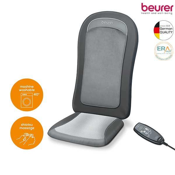 Đệm ghế massage shiatshu kèm nhiệt Beurer MG206