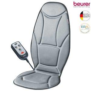 Đệm massage đa năng Beurer MG155 với 5 điểm massage rung động nhẹ nhàng mang lại cảm giác dễ chịu và thu giãn mỗi khi mệt mỏi. Đệm ghế massage Beurer MG155 trang bị thêm giắc cắm tẩu giúp bạn sử dụng được trên xe hơi để thư giãn trong những chuyến đi dài.