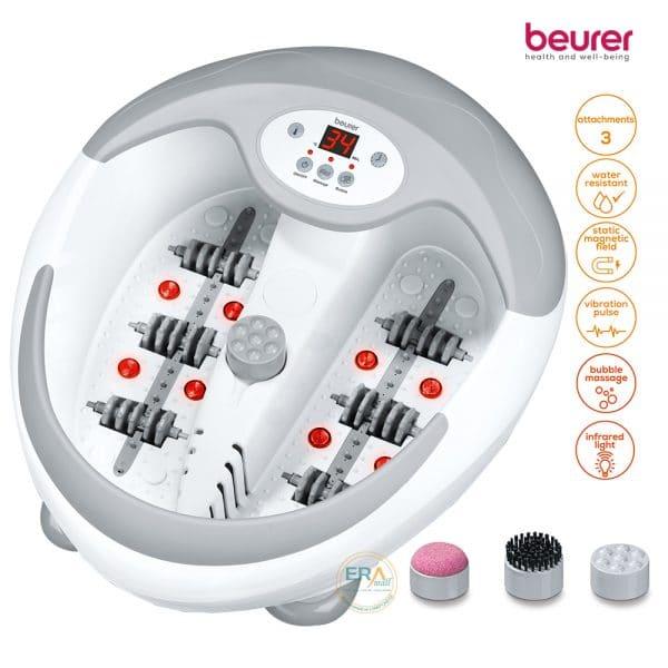 Bồn ngâm chân, làm nóng nước, massage đa năng Beurer FB50