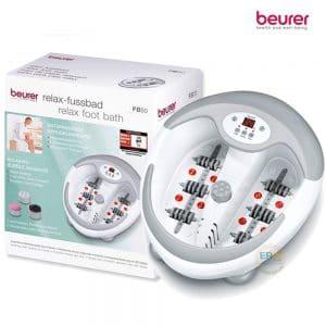 Bồn ngâm chân, làm nóng nước, massage đa năng Beurer FB50_box