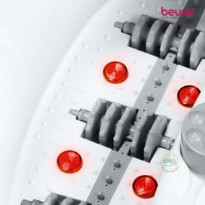 Bồn ngâm chân, làm nóng nước, massage đa năng Beurer FB50_infrared light