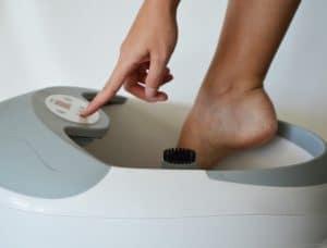 Bồn ngâm chân, làm nóng nước, massage đa năng Beurer FB50_user