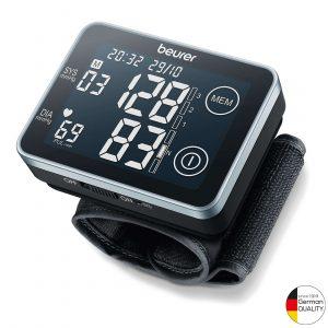 Máy đo huyết áp cổ tay BC58giúp theo dõi huyết áp, nhịp tim hoàn toàn tự động ngay tại nhà với màn hình lớn cho kết quả được hiển thị rõ nét, dễ nhìn.