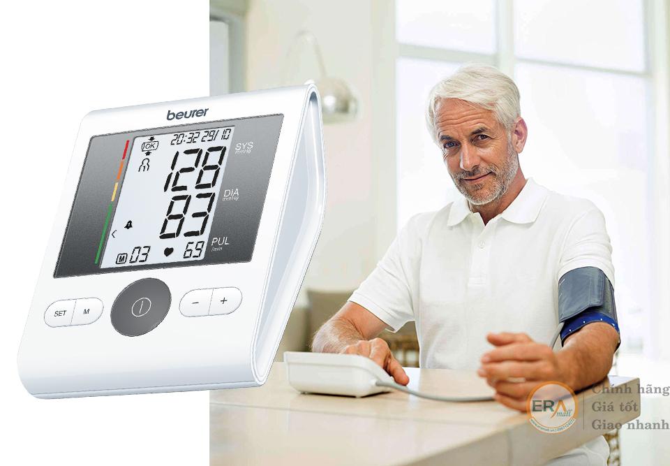 Máy đo huyết áp bắp tay Beurer BM28 rất được tin dùng vì độ chính xác rất cao, dễ dàng sử dụng và có nhiều ưu điểm nổi trội để giúp bạn kiểm tra sức khỏe của của gia đình.