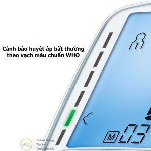 Máy đo huyết áp bắp tay Beurer BM47 cảnh báo huyết áp bất thường theo vạch màu chuẩn WHO