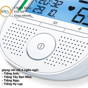 Máy đo huyết áp bắp tay có giọng đọc Beurer BM49