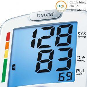 Màn hình máy đo huyết áp cổ tay beurer BC44