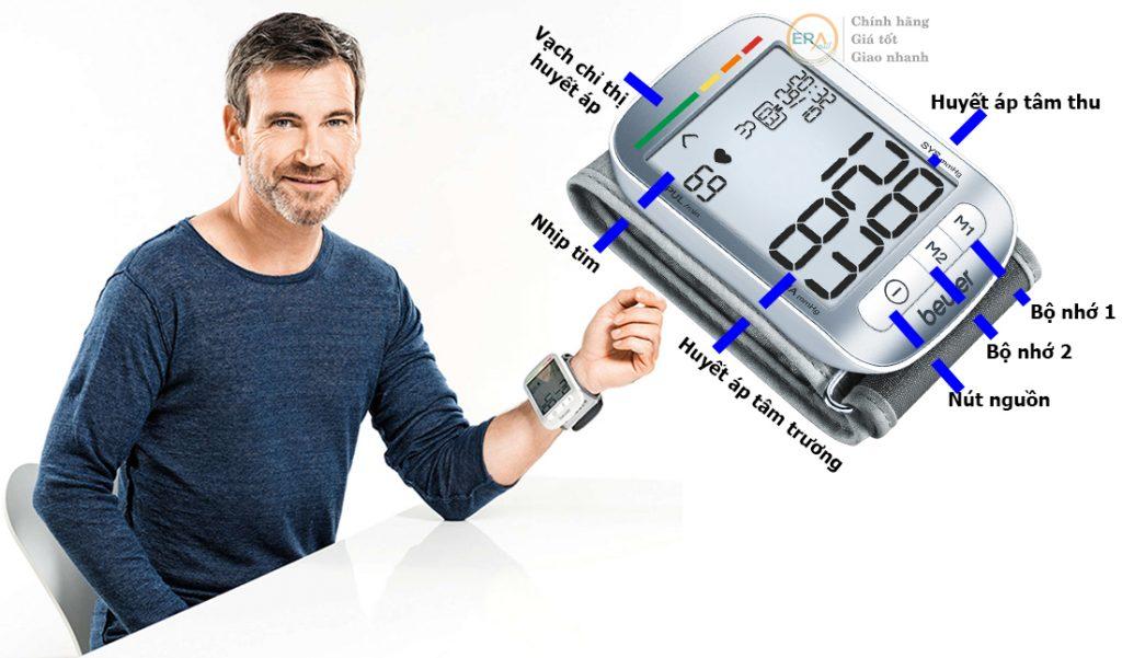 Máy đo huyết áp Beurer BC50