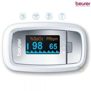 Máy đo khí máu và nhịp tim cá nhân Beurer PO30_1