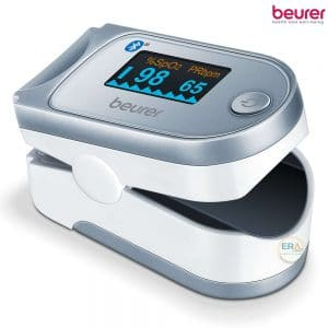 Máy đo nồng độ oxy trong máu SpO2 và nhịp tim Beurer PO60_left