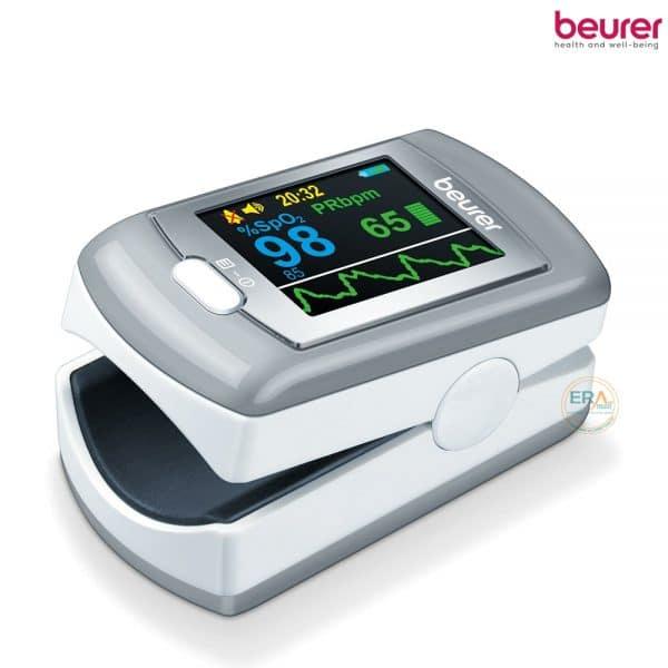 Máy đo nồng độ oxy trong máu SpO2 và nhịp tim Beurer PO80_1