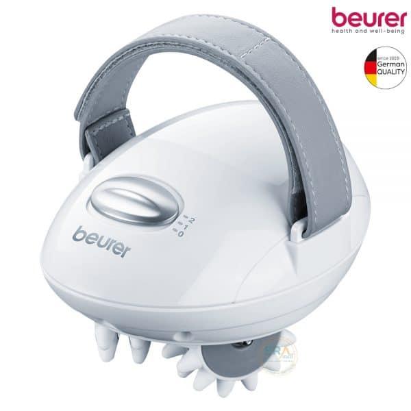Máy massage cầm tay Beurer CM50 bắt chước các động tác tay được sử dụng trong quá trình mát xa chuyên nghiệp có tác dụng xoa bóp thúc đẩy lưu thông và tuần hoàn bạch huyết làm săn chắc vùng da bị Cellulite, lấy lại thẩm mỹ và tự tin.
