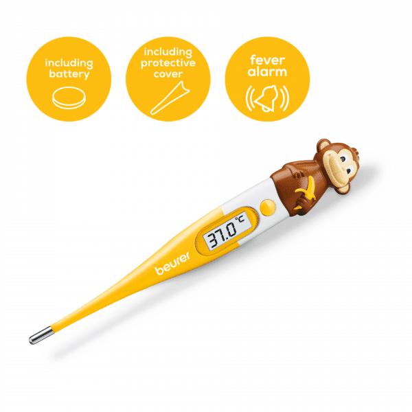Nhiệt kế điện tử đầu mềm Beurer BY11-monkey