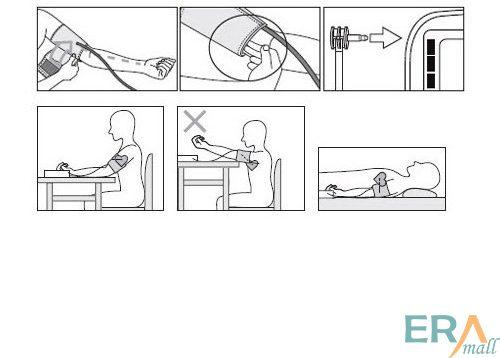 Hướng dẫn sử dụng máy đo huyết áp bắp tay