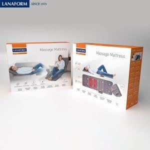 Đệm massage toàn thân Lanafom Mattress LA110315-box