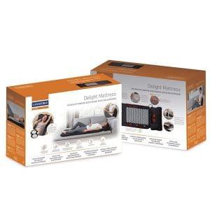 Đệm massage toàn thân Lanaform Delight LA110316-box
