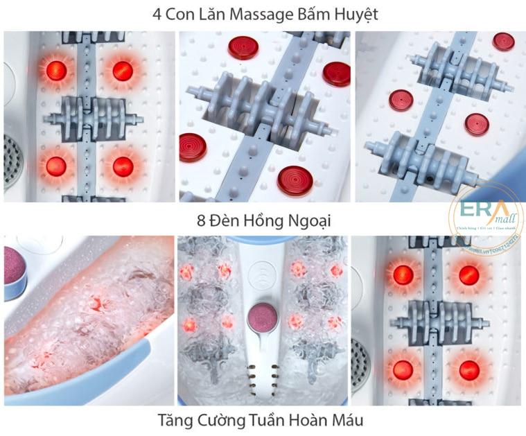 Bồn ngâm chân hồng ngoại Lanaform Luxury LA110415-main-life-fulloption