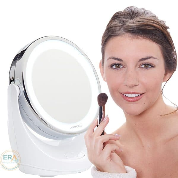 Gương trang điểm Lanaform LED X10 LA131004-1