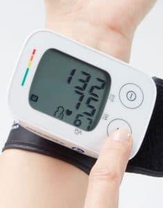 màn hình Máy đo huyết áp cổ tay Lanaform WBPM-100