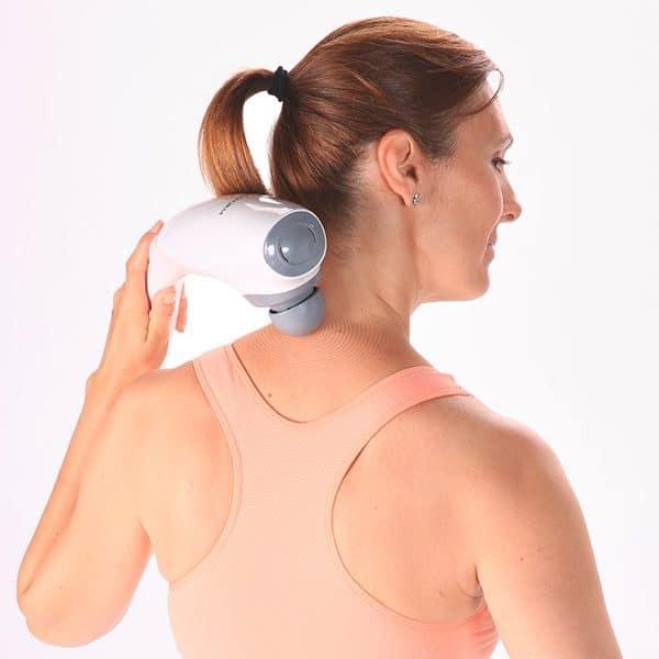 Máy massage cầm tay Lanaform LA110222-massage vai gáy