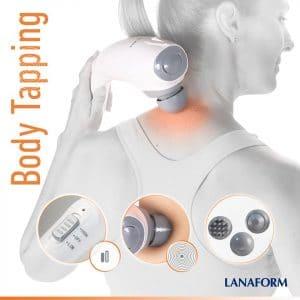 Máy massage cầm tay Lanaform LA110222-tính năng