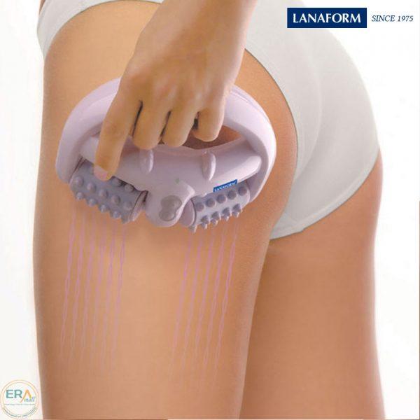 Máy massage làm mịn và săn chắc da Lanaform LA110202 pin sạc