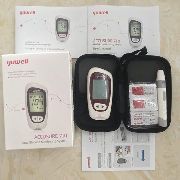 Máy đo đường huyết Yuwell Accusure710-life