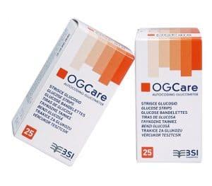 Hộp 25 que thử đường huyết OGCare