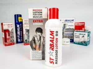Kem massage giảm đau nhức cơ Starbalm 200ml