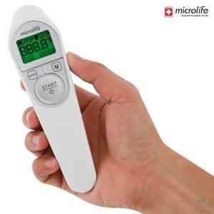 Nhiệt kế điện tử hồng ngoại Microlife NC200_4