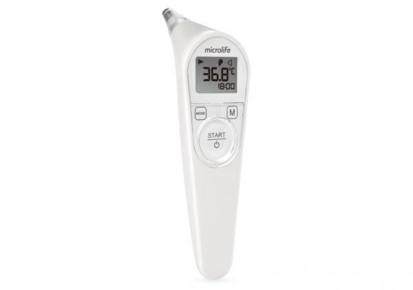 Nhiệt kế hồng ngoại đo tai Microlife IR210