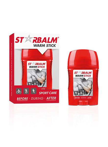 Ống làm nóng cơ Starbalm 50ml có tác dụng giảm đau cơ bắp, nhức mỏi lưng vai, gáy, cổ, tay, chân do vận động chơi thể thao.