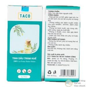 Tinh dầu tràm Huế TACO 50ml-carton