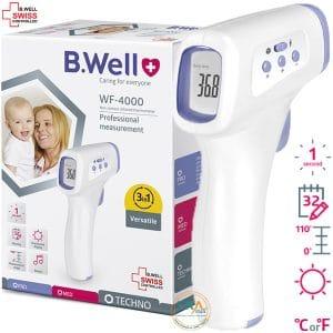 Nhiệt kế đo trán hồng ngoại B.Well WF-4000