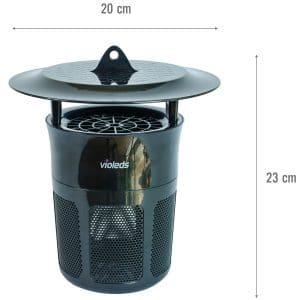 Đèn UVled bắt muỗi và côn trùng Mosclean IS1- size
