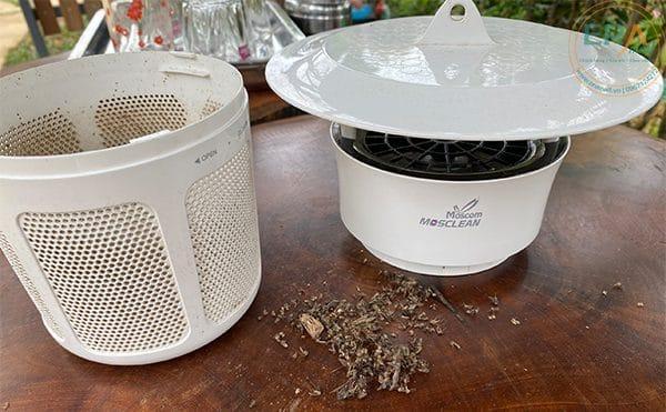 Đèn bắt muỗi và côn trùng UVled Mosclean IS1 trắng-fan