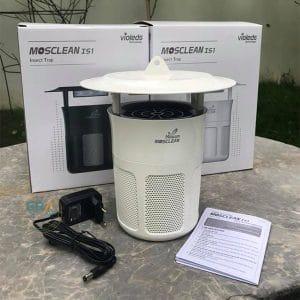 Đèn bắt muỗi và côn trùng UVled Mosclean IS1 trắng -fullbox