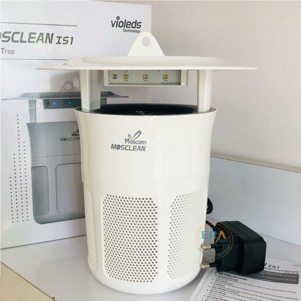 Đèn bắt muỗi và côn trùng UVled Mosclean IS1 trắng -main