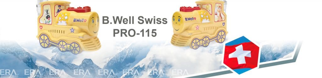 Máy xông mũi họng trẻ em B.Well Swiss PRO-115