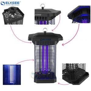 Đèn diệt muỗi và côn trùng Elysee SUPERNOVA-E15-tính năng