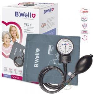 Máy đo huyết áp cơ B.Well MED-61 chuyên dùng cho các bác sĩ và y tá, những người yêu cầu độ chính xác và độ bền cao của thiết bị.