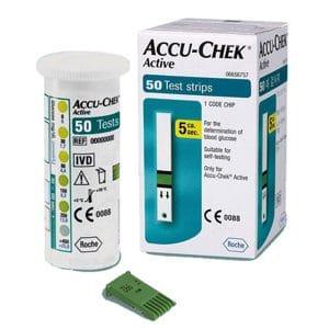 Hộp 50 que thử đường huyết Accu-Chek Active_2
