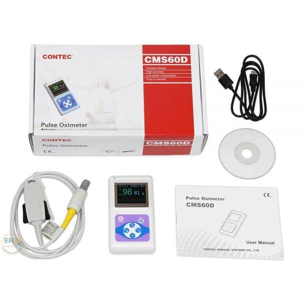 Máy đo SpO2 và nhịp tim trẻ em Contec CMS60D