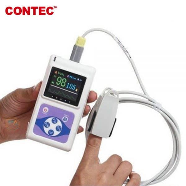 Máy đo SpO2 và nhịp tim trẻ em Contec CMS60D_5