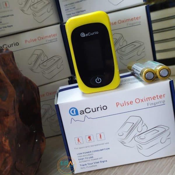 Máy đo nồng độ oxy SpO2 và nhịp tim Acurio AS-304_User2