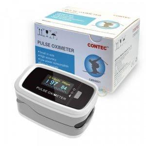 Máy đo nồng độ oxy SpO2 và nhịp tim Contec CMS50D1