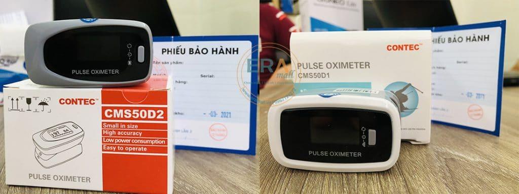Máy đo nồng độ oxy SpO2 và nhịp tim Contec CMS50D1 - CMS50D2