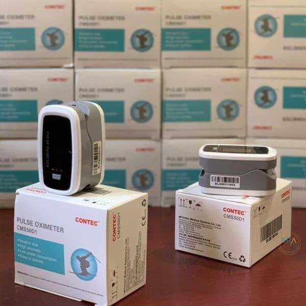 Máy đo nồng độ oxy SpO2 và nhịp tim Contec CMS50D1_life2