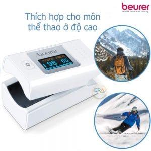 Máy đo nồng độ oxy máu SpO2 và nhịp tim Beurer PO35_3