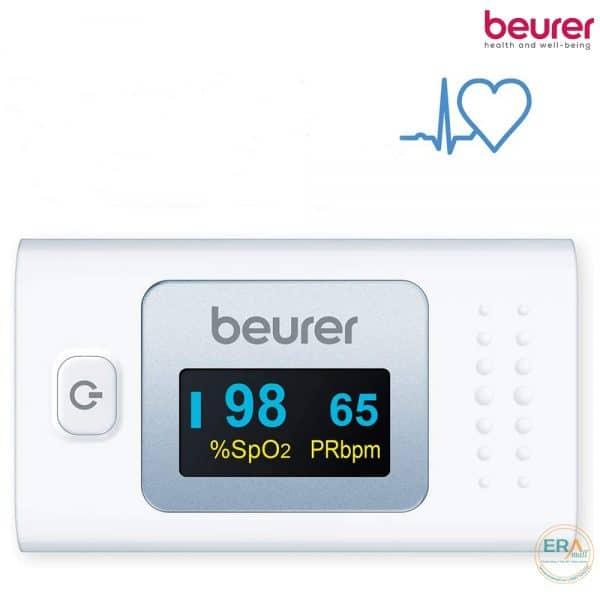 Máy đo nồng độ oxy máu SpO2 và nhịp tim Beurer PO35_4